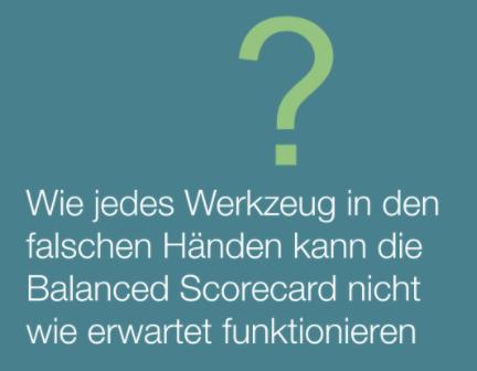 Balanced Scorecard Nachteile