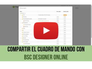 Vídeo de capacitación: Compartir CMI con BSC Designer Online
