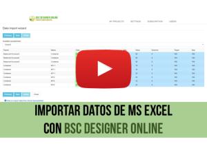 Vídeo de capacitación: Importación de datos para KPI desde MS Excel