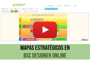Video de capacitación: Mapas Estratégicos con BSC Designer Online