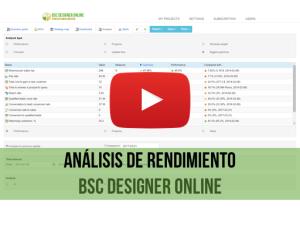 Video de capacitación: Análisis de KPIs en BSC Designer Online