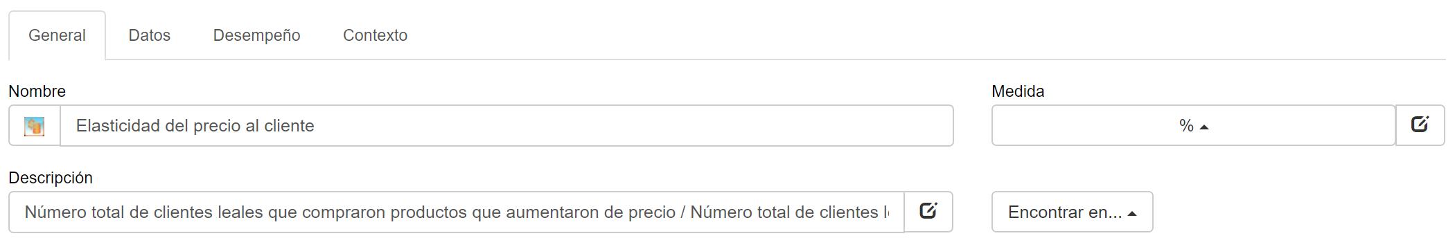 KPI de elasticidad de precio del cliente