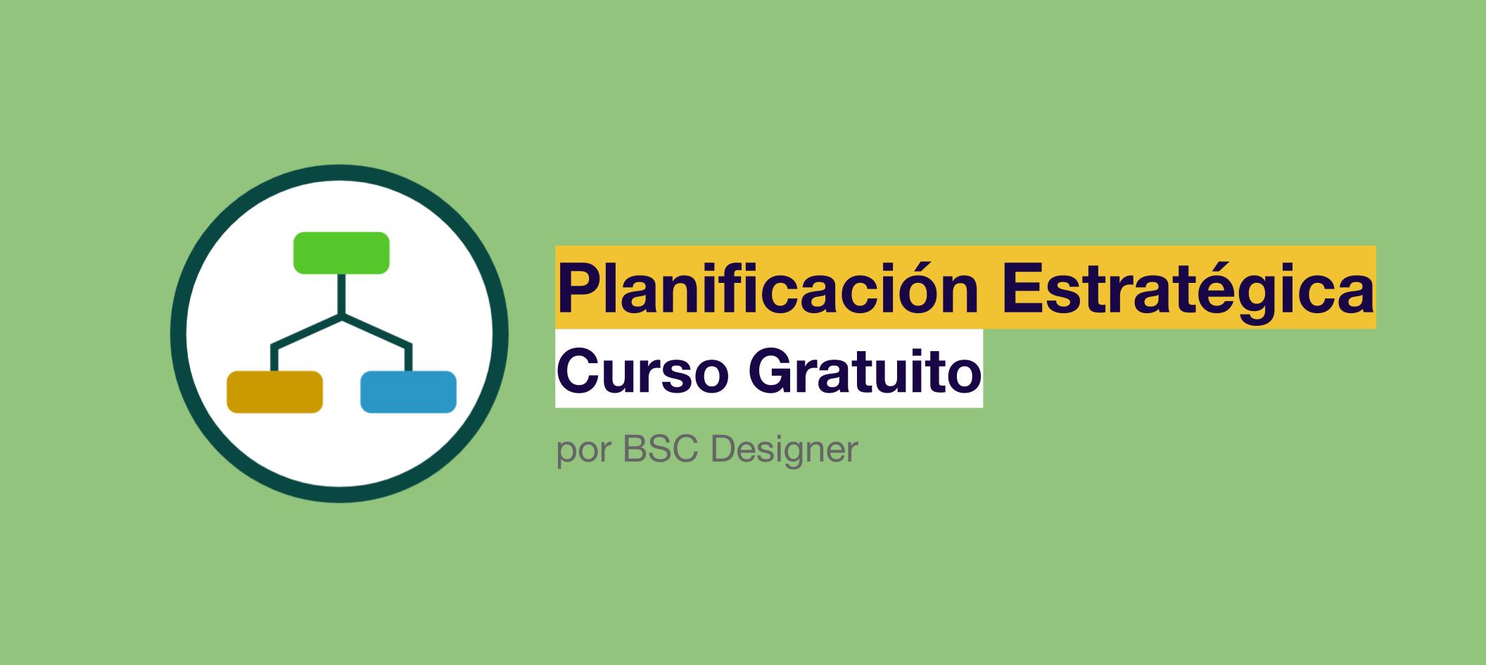 Planificacion estratégica curso gratuito