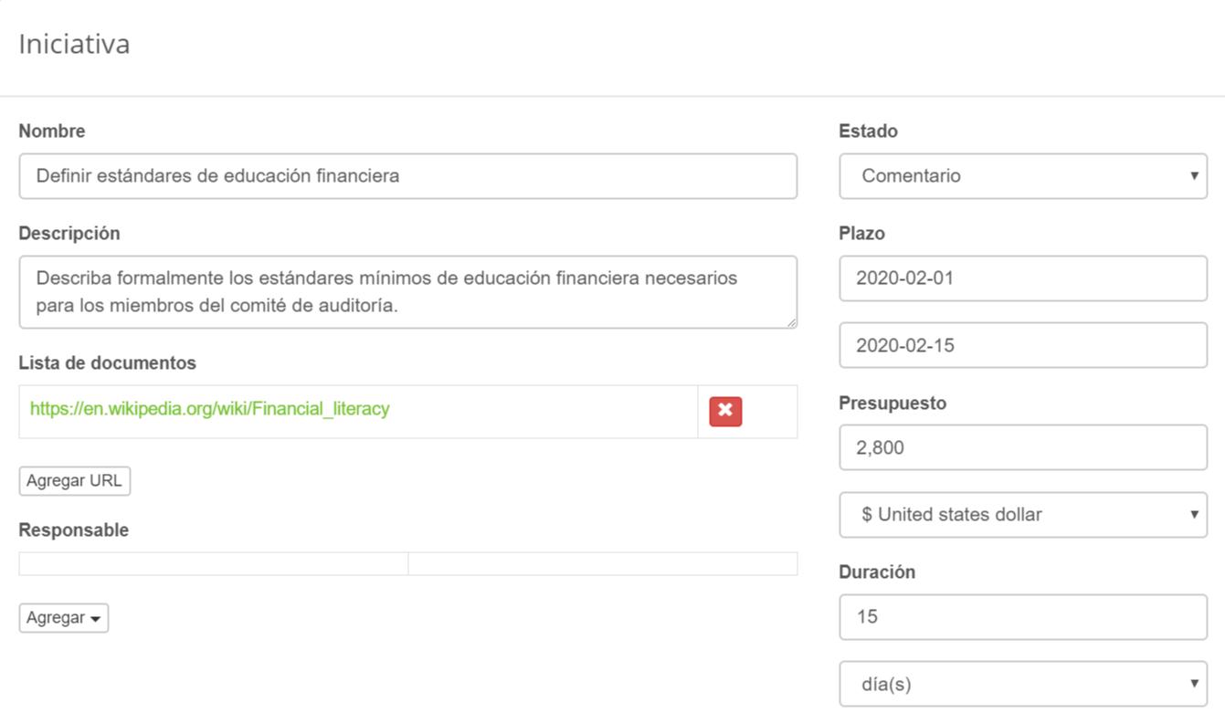 Definir estándares de educación financiera