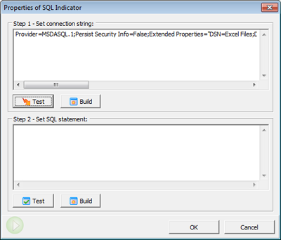Import Data from External Database with SQL Query
