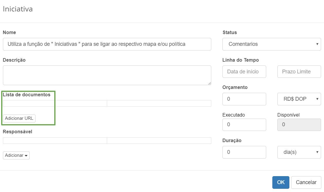 Mapear políticas às áreas de compliance width=