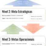 [Infographic] Está Fazendo Isso Errado: Metas Estratégicas vs. Operacionais
