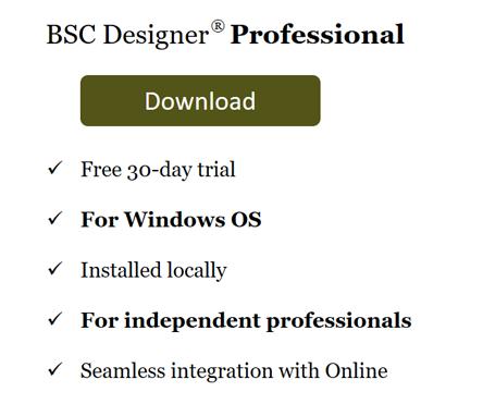 Download BSC Designer PRO for Windows