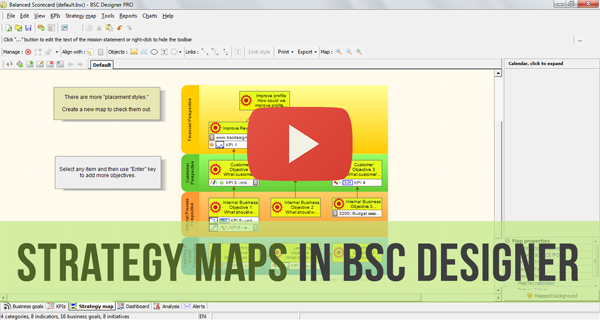 Strategy Maps in BSC Designer Video Manual