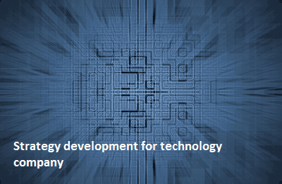 Strategy development for technology company