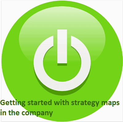 Getting started with strategy maps in the company