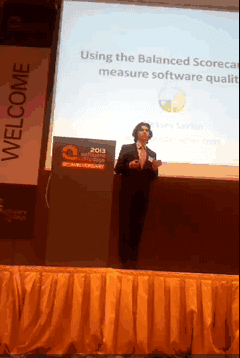Vienna - Software Quality Days - Using BSC to measure software quality