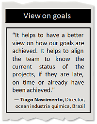 Better view on business goals
