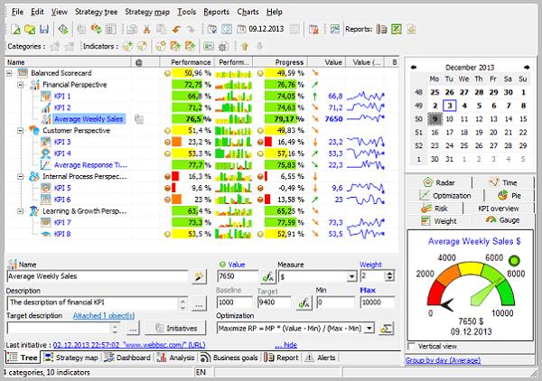 BSC Designer Interface