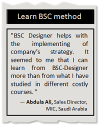 Learn BSC method
