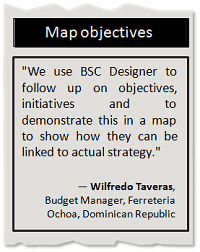 Map objectives