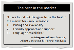 The best BSC software in the market