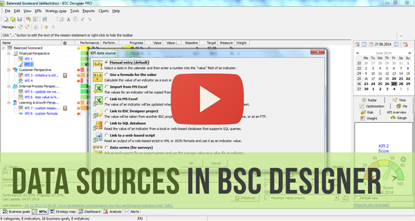 Data Sources in BSC Designer Video