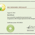 Get trained and certified in BSC Designer