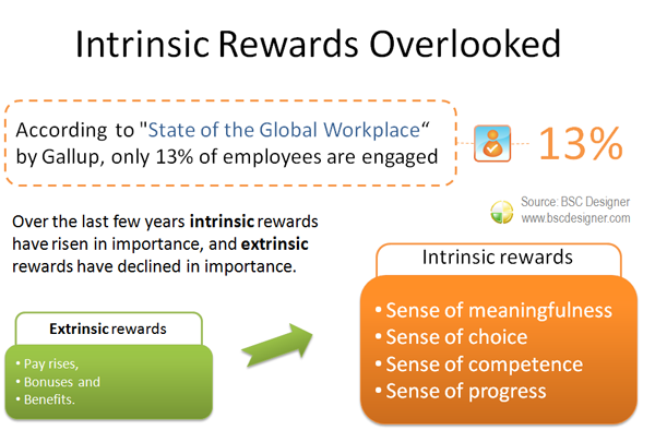 Intrinsic rewards overlooked