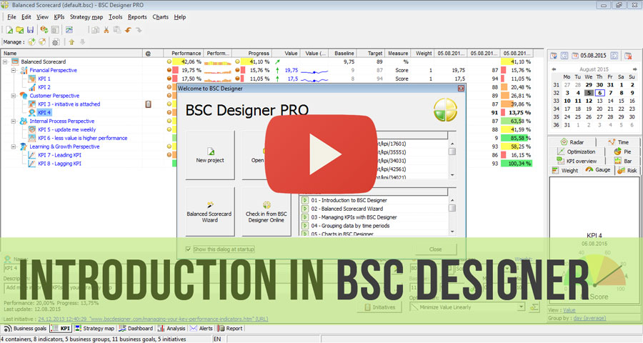 Video introduction to BSC Designer PRO