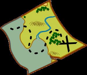 Business treasure map