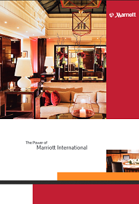 Balanced Scorecard is mentioned in traditional Marriott's brochure as strategy execution tool