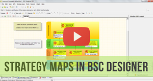 Strategy Maps in BSC Designer - Video Manual
