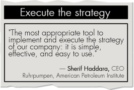 Great tool for strategy execution