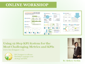 12 Step System to deal with the most challenging metrics and KPIs