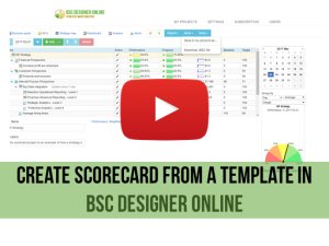 Training video: Using BSC Template