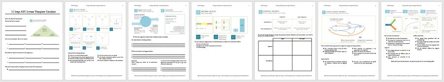 Book's bonus: Download 10 Step KPI System Template