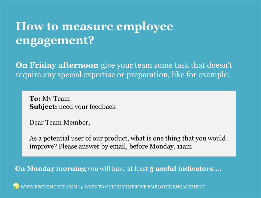 How to measure employee engagement?