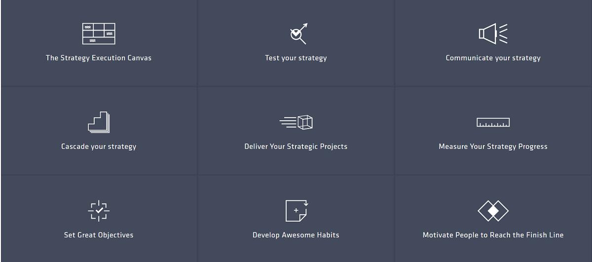 9 módulos de capacitación sobre ejecución de estrategias