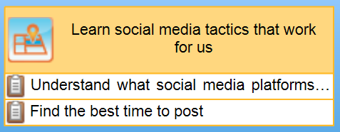 Learn social media tactics that work for us